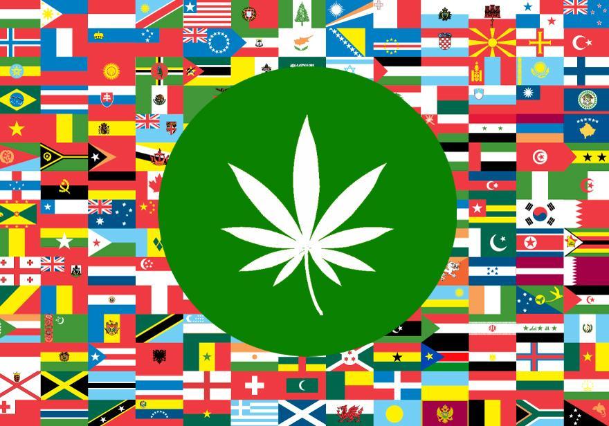 пушенето на марихуана по света